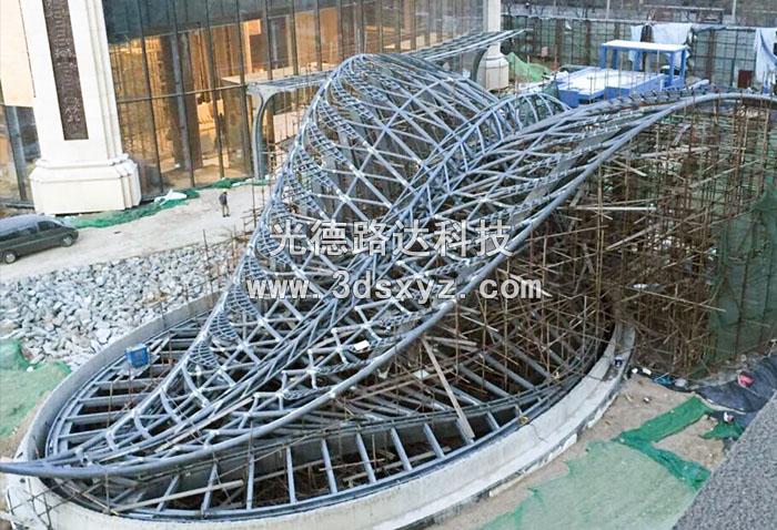 异型钢结构三维检测